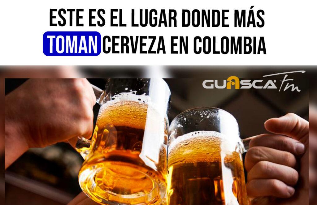 este es el lugar donde más toman cerveza en colombia